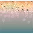 Bokeh blurred background vector image
