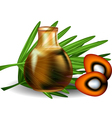 palm oil vector image