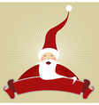 Christmas Happy Santa Claus vector image
