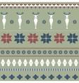 Christmas ornamental texture vector image