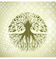 Vintage Tree Background vector image