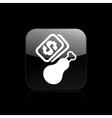 food sale icon vector image vector image