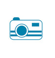 silhouette digital camera technology equipment vector image