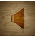 Speaker volume icon symbol Flat modern web design vector image