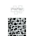 abstract modern flyer or brochure design vector image
