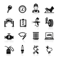 Car service maintenance icon vector image