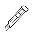 cutter outline vector image