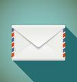 Icon envelope Stock vector image