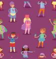 superhero kids super hero child or kid in vector image