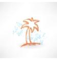 Coco grunge icon vector image