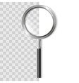 Magnifying Glass Zoom Tool vector image