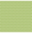 Green tea leaves pattern vector image