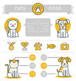 infographics design elements icons and badges vector image