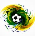 soccer game design vector image