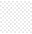 spiral background gray and white seamless pattern vector image