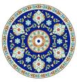 artistic ottoman pattern series eleven vector image