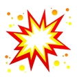 burst icon vector image
