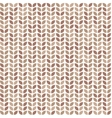 Scrap seamless pattern with brown leaves vector image