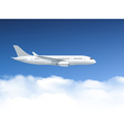 Airplane In Air Poster vector image