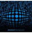 Abstract Blue Technology Background vector image