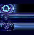 technology website banners backgrounds templates vector image