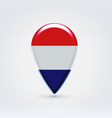 Netherlandian icon point for map vector