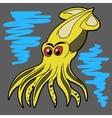 Squid vector image