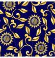 floral sari pattern vector image