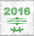 new year green vector image vector image