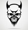 Devil Skulls Tribal vector image