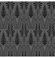 seamless black wallpaper pattern vector image
