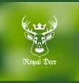 wildlife logo vector image