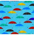 seamless umbrellas vector image