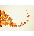 Autumn background template EPS 10 vector image