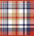 check classic tartan seamless pattern vector image