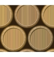 barrel stand seamless background vector image vector image