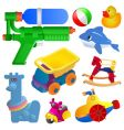 toy set vector image vector image