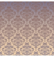 Luxury seamless golden floral wallpaper vector image vector image
