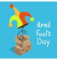 modern april fools day vector image