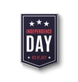 Independence day background 4th of July vector image