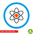 Atom Eps Rounded Icon vector image