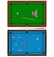 Billiard table vector image