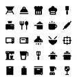 Kitchen Utensils Icons 1 vector image