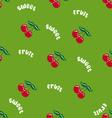 cherrypattern vector image