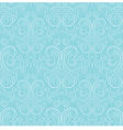 Seamless ornament on a blue background vector image