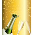 New Years Invitation vector image