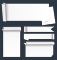 Scroll Paper Banners vector image
