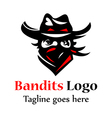 Bandits Logo vector image
