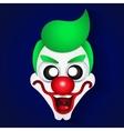 Funny clown celebration vector image vector image