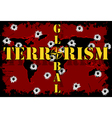 Global terrorism vector image vector image